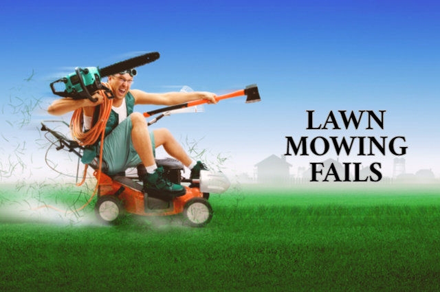 Lawn Mowing Fails image by Lobur Alexey Ivanovich (via Shutterstock).