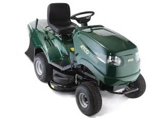 Atco ride on mower